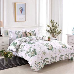 Floral Botanical Duvet Cover Bed Sheets
